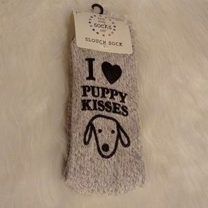 Puppy Kisses Socks